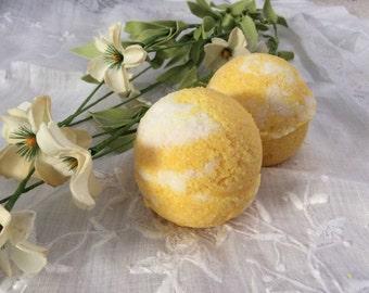 5 Pack) Lemon Cooler Bath Bombs