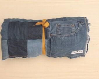 Repurposed Denim Blanket - Large