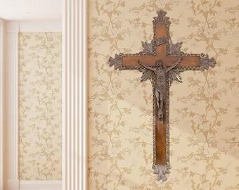 Wood crucifix. 60