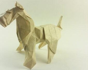 Origami Fox Terrier
