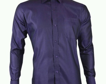 Purple ready to party Mens shirt