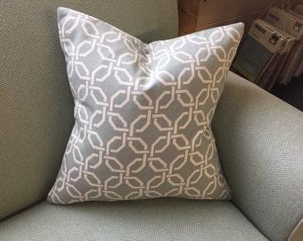 """Pillow Sham Cover - Blue Deco 20"""""""
