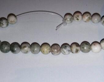 Nevada lapis beads 6mm round beads 6mm stone beads pastel beads multicolored beads