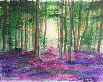 REDUCED PRICE! Lavender Woods (original)