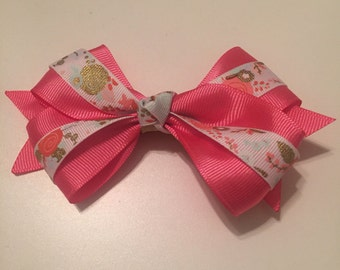 Large Fancy Clip Bow