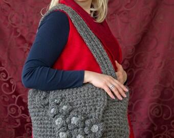 women bag; organic bag; eco-friendly bag; woolen bag; handmade bag; casual bag; woolen handbag