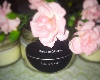 Kiss me I'm Keshia-Jai scented candle