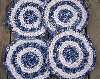 Crocheted Chair Pads