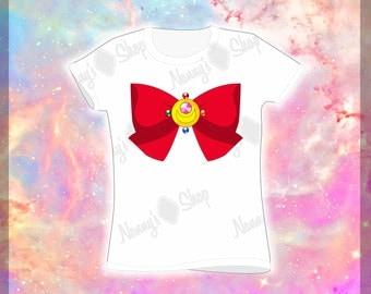 Sailor Scouts Bows T-shirt