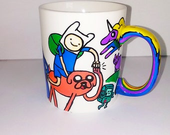 It's Coffee Time! Adventure Time Mug