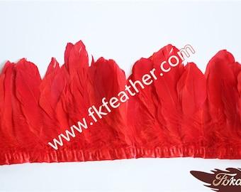 Goose Feather Trim - 2 Meters