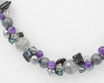 Cloudy Quartz Necklace