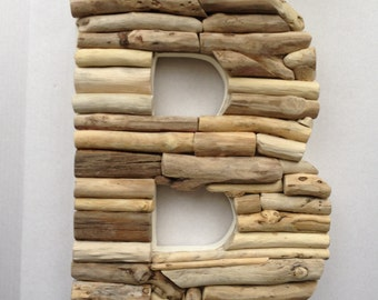 The Original Three Foot Driftwood Alphabet