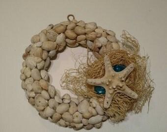 Starfish & Seashell Door Wreath