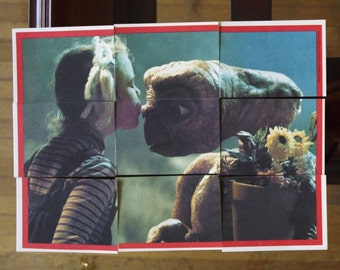 E.T. Collectible Trading Cards/ Puzzle