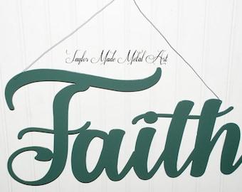 Faith Sign ( Hanging )