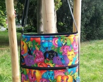 Dogs and dogs handbag