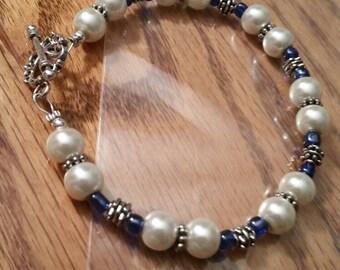 Beautiful handmade Pearl bracelet
