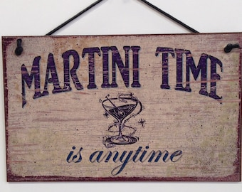 Martini Time Is Anytime