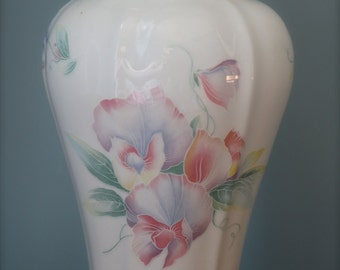 REDUCED TO CLEAR Large Aynsley 'Little Sweethearts' Vase.  Fine china