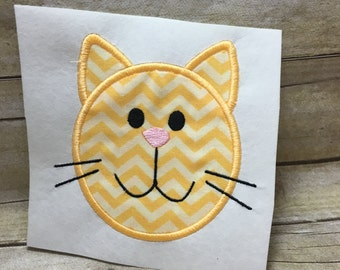 Cat Applique, Cat Embroidery Applique, Cat Applique Embroidery Design