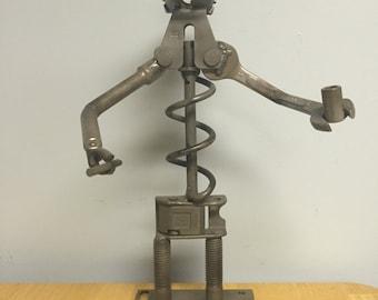 Recycled Metal Figurine