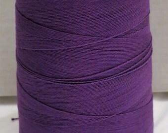 5/2 PEARL COTTON - Mercerized from -UKI Supreme - #27 Purple - 19 oz - 2493 yards
