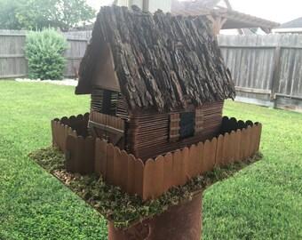 Handmade Weatherproof Birdhouse