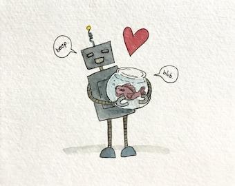 Opposites Attract - Robot Fish