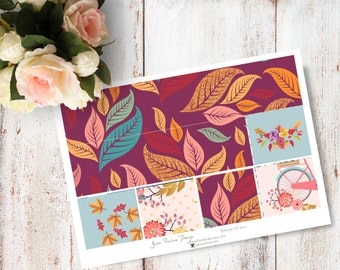 """Planner Stickers for the vertical Erin Condren Life Planner - Windy Kit """"Washi"""" Sheet"""