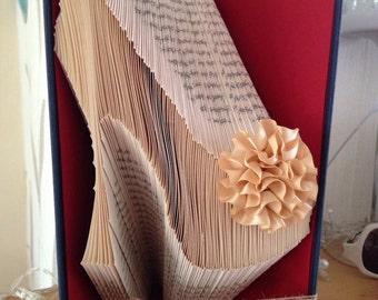Book Folding Ladies Stiletto Shoe Addict