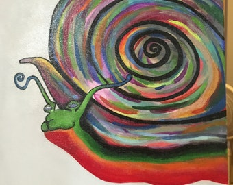 Snail Painting