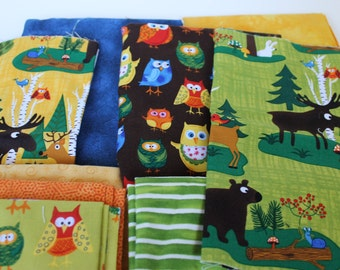 Woodland Friends fabric bundle