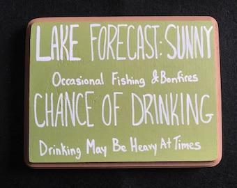 Lake Forecast Sign