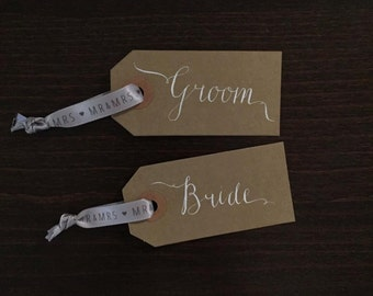 Wedding Place Name Tags