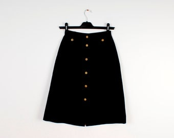 how to add lenght to a button up skirt