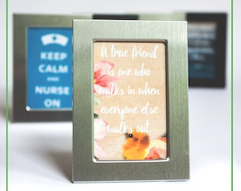 Framed Art Quote. Custom Framed Art Quote. Desk framed quote. Gift for teachers. Gift for nurses.