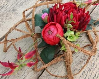 Spin Bouquet Red