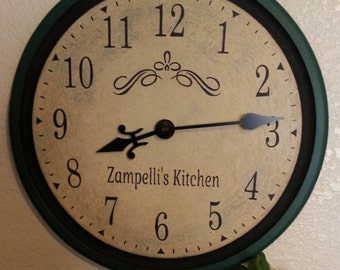12 inch Thin Framed Clock