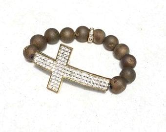 MattElegance Collection-Olive Druze Cross
