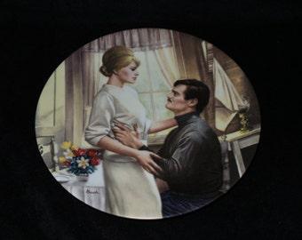"1991 W.S. George Doctor Zhivago ""Lara's Love"" Collector Plate by George Arthur Bush"