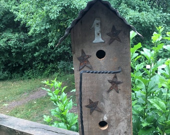 Large Barnwood Birdhouse