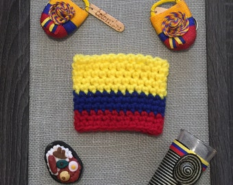 Colombian Flag Coffee Cozy
