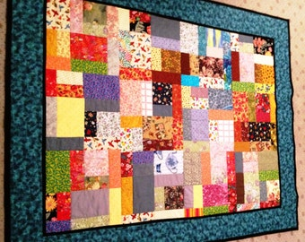 Scrap Quilt by Sew4Fun Australia