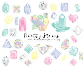 crystal gemstone clipart, raw crystals and, gemstones and diamonds png clipart