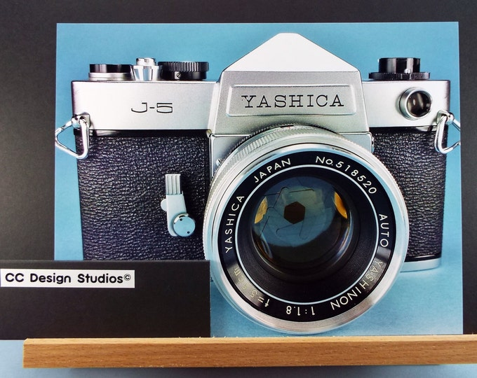 Fine Art Photography - Classic Camera Series / Titled 'Yashica J-5' / Full Color 8x10 Photo / for Home-Office Decor / Wall Art Collection