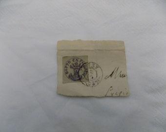 very rare Romanian stamp