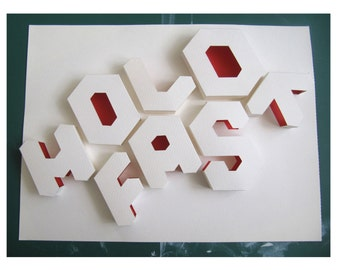 3D hold fast paper print