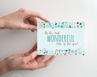 Most Wonderful Time of the Year - Greeting Card