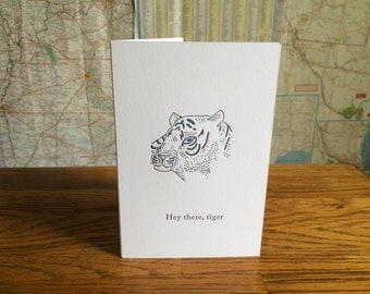 Significant Other Greeting Card - Tiger